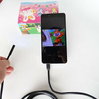 New 2.5M Android Endoscope Waterproof Snake Borescope Inspection Video Camera