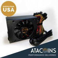 1600W 110V Power Supply For 6 GPU ETH ETC Monero Rig Ethereum Coin Mining Miner