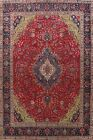 SEMI ANTIQUE Hand-knotted Traditional Floral Area Rug Oriental Wool Carpet 10x13
