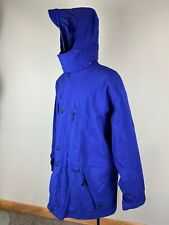 VTG Exploration Head Gore Tex L Large mens jacket ski snowboard hooded blue