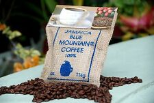WALLENFORD ESTATE 100% JAMAICA BLUE MOUNTAIN COFFEE 4oz X 4 Bags whole Beans
