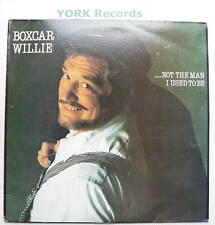 BOXCAR WILLIE - .. Not The Man I Used To Be - Ex Con LP