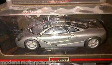 McLAREN F1 GRAY 1:18 BY UT MODELS VERY RARE DISCONTINUED NEW IN BOX LAST PIECE