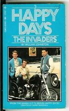 THE INVADERS by Johnston rare US Tempo Book Happy Days TV tie-in pulp vintage pb