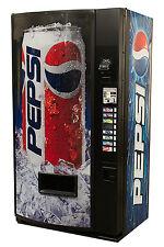 Vendo V480 8 Selection Single Price Soda Can Vending Machine with Pepsi Graphic