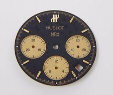 HUBLOT MDM GENEVE 29 mm Matte Black Gold Subdial Chronograph Date Watch Dial