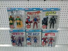 Marvel Legends VINTAGE WAVE 2 Case Scarlet Spider Vision Hawkeye Black Panther