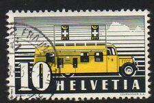 SWITZERLAND SG380 1937 MOBILE PO MAIL FINE USED