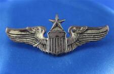 "Sterling Silver Senior Pilot Clutch Back Wings - 2"""