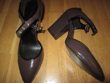 next dark mink brown high heel round toe shoes size 6.5 eu 40 brand new tags