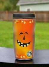 Starbucks Coffee Company 2001 2002 Halloween 8oz Tumbler Pumpkin Jack-O'-Lantern