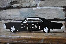 Supernatural Baby Impala Black  Hot Rod Wooden Puzzle  Car Toy NEW