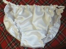 "🌸MADE TO ORDER* SATIN Tanga style ""SISSY ""Knickers any size..any colour🌸"
