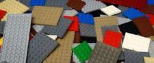Lego Studded Base Plates - 6x6, 6x8, 6x10, 6x12, 6x14, 6x16. Pick Color-Quantity