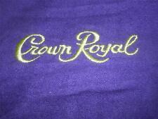 CROWN ROYAL Purple Cloth Drawstring Bags Lot of 2 Medium -- FREE USA SHIPPING