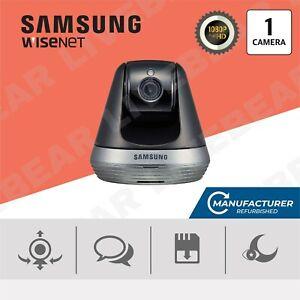 Samsung SmartCam SNH-V6410PN 1080p Full HD Pan and Tilt Wi-Fi Camera Black