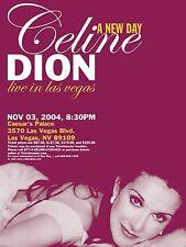 """Celine Dion Las Vegas 16"""" x 12"""" Photo Repro Concert Poster"""