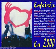 CD audio../...ENFOIRES EN 2000..../...LES RESTAURANTS DU COEUR.....