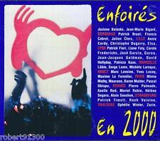 CD audio../...ENFOIRES EN 2000..../...LES RESTAURANTS DU COEUR.....