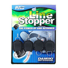 Damiki Baitcasting Fishing Line Stopper Keeper Braided Nylon Line Holder 4pcs #A