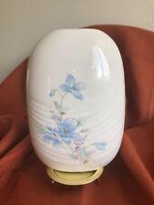 Toyo Floral Flat Oval Vase  Spring Breeze - Japón .