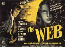 Film-Noir-Movie.  Ella Raines  Vincent Price  THE WEB . 1947  rare/obscure