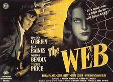 Film-Noir-Movie.  Ella Raines  Vincent Price  THE WEB . 1947  rare/obscure