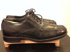 Men's Dockers Black Leather Oxford Dress Shoes-Sz 9M