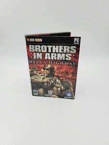 Brothers in Arms: Hell's Highway (PC Game DVD-ROM, 2008) With Manual