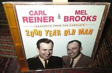 CARL REINER & MEL BROOKS: EXCERPTS FROM THE COMPLETE 2000 YEAR OLD MAN CD, PROMO