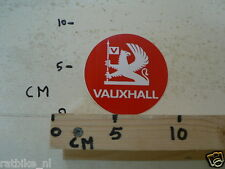 STICKER,DECAL VAUXHALL RED ROUND