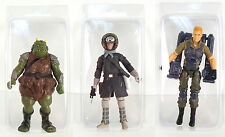 STAR WARS BLISTER CASE LOT OF 10 Action Figure Protective Clamshell Cases MEDIUM