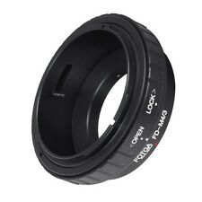 FOTGA HOT Canon FD Lens to M 4/3 M43 Adapter for GF3 GH3 EP2 EP3 EPL3 EPM2 G3 G1