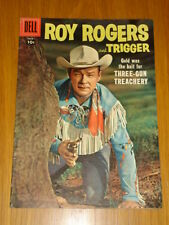 ROY ROGERS AND TRIGGER #113 VG+ (4.5) 1957 DELL WESTERN COMIC D