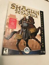 Shogun Total War Warlord Edition EA Sports Big Box PC Game 2001