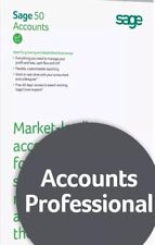 Sage 50 Professional 2018 v24 Accounts Software | ** Bargain **