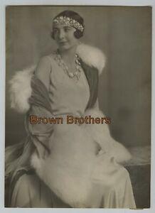 Vintage 1880-1920s Royalty Greece Queen Olga & Princess Irene Helene Photos (4p)