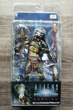 NECA Aliens vs Predator Requiem! Battle Damaged Predator Very Rare AVPR Figure!