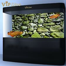 Moss Stone HD Aquarium Background Poster Fish Tank Decorations Landscape