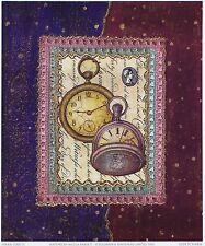 Nicola rabbett montres Arts décoratifs designer d'imprimés taille:23 cm x 19cm env rare