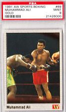 Muhammad Ali 1991 All World PSA 9 #69 GOLD CARD