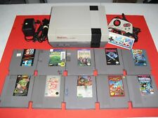 NES System w/ NEW 72 pin & 10 games! Crystals Final Fantasy Mario Bros! Console