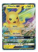 Pokemon TCG Gx Box, Pikachu Gx Sm232 Holo Promo NM-M