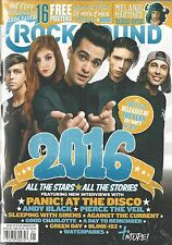 Rock Sound 221 January 2017 Calendar Top 50 Releases Posters Green Day NIS