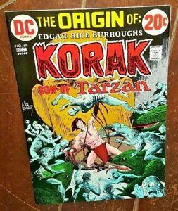 Korak, Son of Tarzan #49, (1972, DC): The Search!