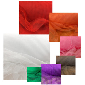 Tüllstoff 160cm breit Meter ganze Rolle Petticoat Stoff Deko Tütü Tüllnetz weich