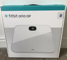 Fitbit Aria Air Smart Health and Wi-Fi Fitness Scales White BMI Tracking *NEW*
