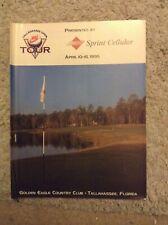 New listing 1995 Tallahassee Open Programme: Golf: PGA Nike Tour