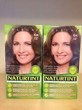 Naturtint Permanent Hair Colourant 2 Packs X 165 Ml Dark Blonde 6N