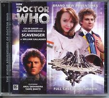 Dr Doctor Who Scavenger Audio CD MINT Colin Baker
